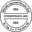 Officially approved Porsche Club 286